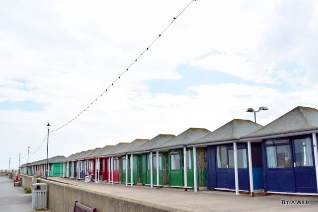 Sutton on sea beach huts
